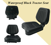 Universal Seat Forklift Seat Tractor Lawn Garden Slidable Mower Seats Pvc Seat