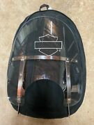 New Harley Davidson Road King 18 Clear Windshield With Storage Bag
