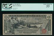 Ac Fr 224 1896 1 Silver Certificate Educational Pcgs 55 Comment