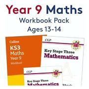 Year 9 Maths Workbook Pack Ages 13-14
