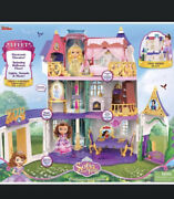 Disney Sofia The First Enchancian Castle 3' Tall Doll House Lights And Sounds New
