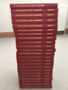 Indianapolis 500 Yearbooks Complete Bound Set Floyd Clymer Foyt Unser Andretti