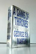 1st Ed. - A Game Of Thrones George R.r. Martin Clash Of Kings Hardcover