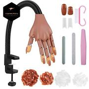 Professional Nail Training Hand Manicure Practice Practice Hand For Acrylic Nail