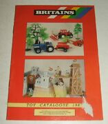 1987 Britains Toy Catalog Farm Models Road Series Star System Knights Play Sets