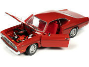 1970 Plymouth Duster 340 Hardtop Rallye Red 118 Diecast Model
