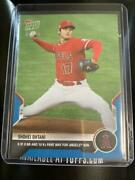 2021 Topps Now Shohei Ohtani 6th Inning 10 Strikeouts No Pitches Winning Pitcher
