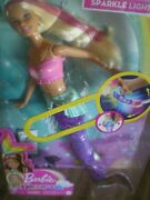 Barbie Dreamtopia Sparkle Lights Mermaid New Swimming Motion And Light Show