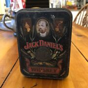 Vintage Jack Daniels Old No 7 Whiskey Tin - Embossed Box With Bottles