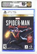 Spider-man Miles Morales Ultimate Launch Edition Vga 95+ Gold Playstation Ps5