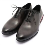 Berluti X Ferrari Limited Edition Leather Leather Shoes 8.5 Menand039s Gray With Genu