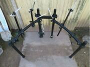 Used Roland Mds-4 Drum Stand Mds4 10 Drum Rack Used
