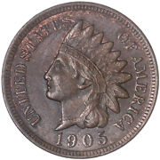 1905 Indian Head Cent Uncirculated Penny Us Coin