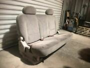 01 Nissan Quest Van Used Rear 3rd Third Row Bench Cloth Seat Assembly