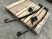 Used Pair Of Front Leaf Springs From 01 C3500hd Ibeam Axle Truck Shipped 28606