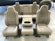 Used 2006 Ford F250 Crew Cab Tan Cloth Power Seats Front/rear 3h Shipped 28124