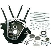 S And S Cycle 31-0078 Super Stock Engine Case Big Bore 3 5/8in Bore Black