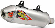 Pro Circuit Exhaust 0151625a T-6 Stainless Slip-on Silencer No Spark Arrestor
