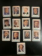 American Presidents 1975 Visual Panographics Lot Of 13 - See Photos For Details