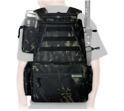 Fishing Tackle Backpack 2fishing Rod Holders Without 4tackle Boxes,large Storage