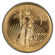 1990 G5 1/10 Oz Gold American Eagle Coin - Low Mintage - Sku-g1148