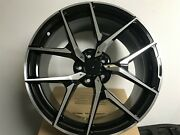 19x8.5 Mercedes Benz Amg Y Spoke Style Black And Silver Rims For S550 S430 S500