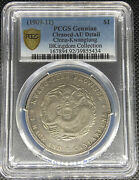 1909-11 China Kwangtung Dollar Silver Coin Y-206 Lm-138 Pcgs Au-detail🥇🥈🥉