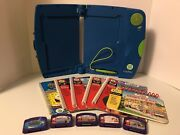 Big Lot Of Leap Frog Leap Pad Plus Reading Math - Includes Books And Cartridges