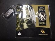 2012 W Infantry Soldier Deep Cameo Silver Dollars In Original Mint Package.