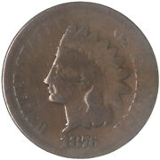 1876 Indian Head Cent Good Penny Gd See Pics G361