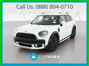 2017 Mini Countryman Cooper All4 Hatchback 4d Ide Air Bags Siriusxm Satellite Parking Sensors Leather Air Conditioning Heated