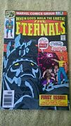 The Eternals 1 Comic 1st Appearance And Origin Jack Kirby Marvel