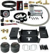 Air Level Helper Spring Kit With In Cab Control For 1963-1991 Chevy 8 Lug Trucks