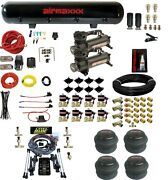 Level Ride Air Suspension Height + Pressure 480 Compressors Brass Valves And 2600