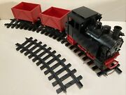 Lgb 20601 G-scale Steam Engine 99 5001 With 2 Cars And Circle Track By Lehmann