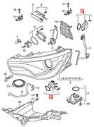 Genuine Audi A1 8x1 8xa Repair Kit For Led With Heat Sink 8x0998475