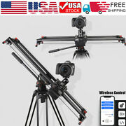 Wireless Remote Motorized Electric Slider Dolly Demountable Video Track For Dslr