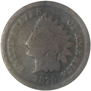 1870 Indian Head Cent Good Penny Gd See Pics F000