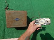 1936 Chevrolet Radio Control Head And Box 36 Chevy Free Shipping