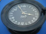 Wwii Seth Thomas Us Navy Shipand039s Clock Excellent Cosmetic Condition
