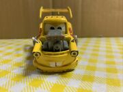 Disney Pixar Cars Die Cast 155 Hot Rod Tow Mater Yellow W/ Red Flames Rare Htf
