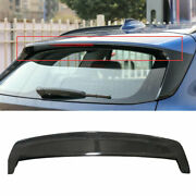 For Bmw X1 F48 2016-2020 2021 Dry Carbon Fiber Roof Boot Spoiler Wing Flap 1pcs