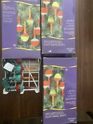 3 Sets Classic Bubble Lights Christmas Glass Lights 7 Strand Vintage New In Box