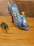 Bradford Exchange Disney Once Upon A Slipper Cinderella Ornament A Dream Is A