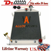 3 Row Aluminum Radiator Fit Ford Model-a Grille-shells Chevy V8 Engine 1928-1931