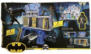 Batman 3-in-1 Batcave Playset With Exclusive 4 Action Figure And Battle Armor