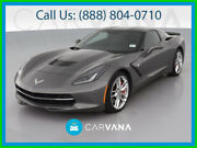 2016 Chevrolet Corvette Stingray Z51 Coupe 2d Dual Air Bags Alarm System Power Steering Power Door Locks Leather Bluetooth