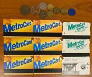 Collection Vintage Modern And Rare Transit Tokens And Cards Bus Bridge Subway Tram