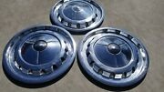 1957 Chevrolet Belair Impala Nomad Hubcaps Wheel Covers