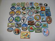 1975 -2017 Michiganand039s Dnr Living Resource Patches Complete Set- Deer-bear-
